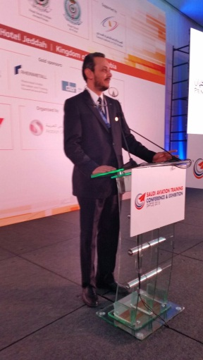 Mr. Hani Nasraddin during his presentation