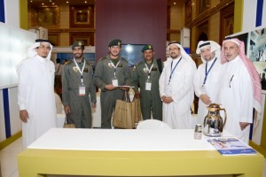 PSAA Managing Director welcoming Royal Saudi Air Force visitors
